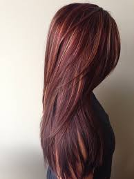 rich cherry hair colour how to rich red hair color with golden caramel highlights career