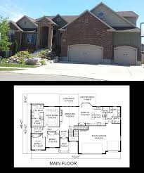 one story floor plans with bonus room glamorous 2 storey house plans with bonus room over garage ideas