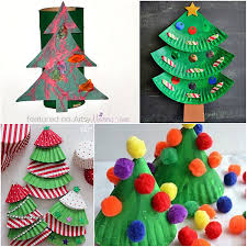 28 crafty christmas tree projects for all ages artsy momma