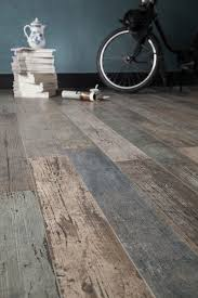 Kitchen Laminate Flooring Tile Effect Wood Look Tile 17 Distressed Rustic Modern Ideas
