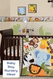 unique baby boy nursery themes and decor ideas involvery