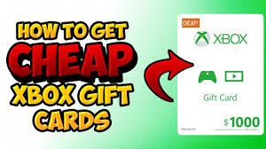 gift cards for cheap 2018 how to get cheap xbox gift cards and live 43 for 50