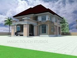 Fascinating 4 Bedroom Duplex House Plans In Nigeria Memsaheb 3d Duplex House Plans Gallery