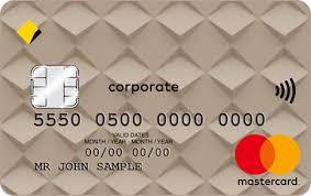 corporate credit cards commbank