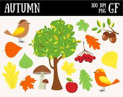 autumn clipart fall digital clipart autumn printable fall