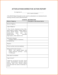 after report template corrective report template accurate concept after