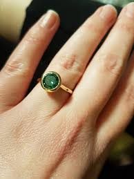 green stone rings images Show me your green stone rings jpg