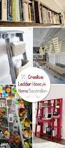 Creative Ideas For Home Decor 20 Creative Ladder Ideas For Home Decoration Hative