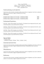 classic resume template classic resume template plain well nor 100 laurelsimpson