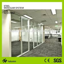 commercial fire rate glass partition glass room divider partition