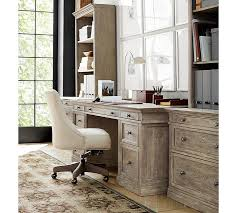 Modular Home Office Desks Build Your Own Modular Livingston Collection Pottery Barn