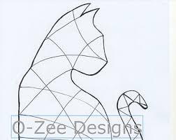 cat zentangle template pdf a4 cats pinterest a4 template