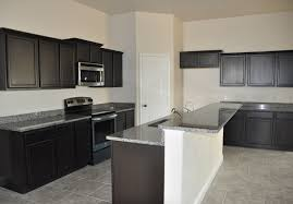 White Kitchen Cabinets And Black Countertops by Dark Kitchen Cabinets With Grey Walls Outofhome
