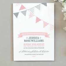 Template For Christening Invitation Card 10 X Bunting Christening Invitations Christening Invitations