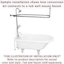 Bathtub Shower Conversion Kit Oil Rubbed Bronze Clawfoot Tub Shower Conversion Kit With