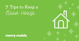 tidy home tips cleaning blog merry maids