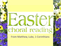 easter choral power point easter choral reading 1 by applebee tpt