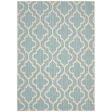 Outdoor Rugs Only Style Doesn T Stop At The Back Door This Blue Olefin Rug Is Safe