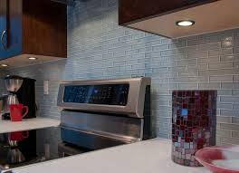 Blue Glass Kitchen Backsplash Clear Light Blue Glass Kitchen Backsplash Kitchen New York