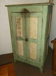 pennsylvania softwood jelly cupboard with old red awwwesome cross