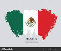 mexican flag banner template u2014 stock vector igor vkv 137864288