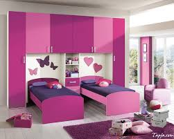 wow pink and purple bedroom in home decoration planner with pink