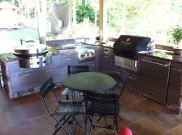 Outdoor Kitchen Furniture by Outdoor Cabinets 101 Fireside Outdoor Kitchens