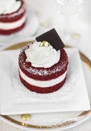 red velvet cake minis sprinkle bakes