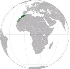 Where Is Morocco On A World Map by Morocco Map