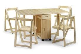 table and chairs with storage folding dining table with chair storage modern 20 rv hide leaf