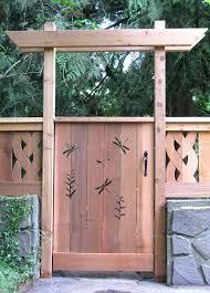 wooden garden gate ideas rustic cedar garden gates simple wooden