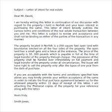 Estate Deal Sheet Template Letter Of Intent Estate Printable Sle Letter Of Intent