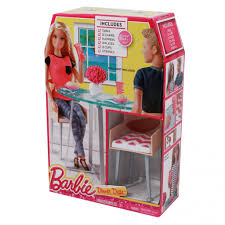 barbie dining room set barbie date night dining room set throughout barbie dining table set