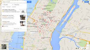 Google Maps New York City by Google Hotel Ads Placements Where Do The Ads Show