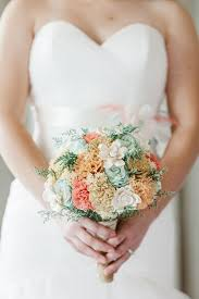 wood flowers bridal bouquet sola wood flowers faux flowers wedding flowers