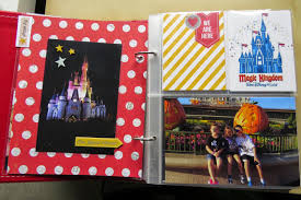 6x8 Album Jen U0027s Happy Place Disney Sn P 6x8 Album Using Simple Stories U0027 Say