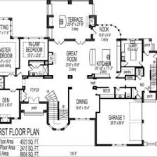 bedroom house plans with ground floor first floor and second 6