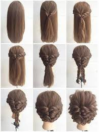 hairstyle with 2 shoulder braids fashionable braid hairstyle for shoulder length hair www