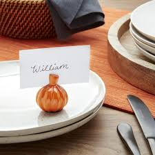 place card holders for weddings u0026 holidays crate and barrel