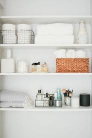 Open Shelving Bathroom by Cool Bathroom Open Shelving Home Interior Design Simple