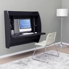 compact desk ideas furniture optimize your space with prepac floating desk