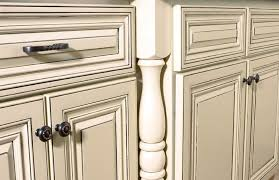 How To Distress White Kitchen Cabinets Painting Cabinets White Antique Look Home Design