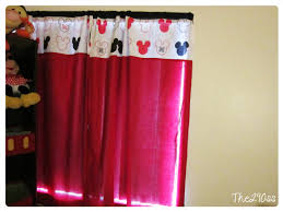 Mini Mouse Curtains by The290ss May 2013