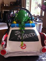 another ghostbusters grooms cake proton charging