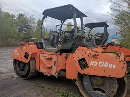 hamm hd120hv tandem roller year 2003 original paint dawood