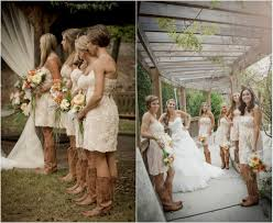 navy blue bridesmaid dresses with cowboy boots images braidsmaid