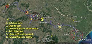 was not sudden flood in subarnrekha jharkhand avoidable sandrp