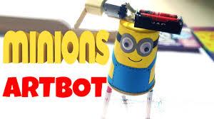 diy for kids minions artbot easy tutorial youtube