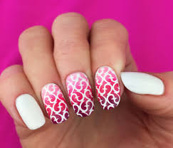 nail art 44 formidable nail art stencils pictures inspirations