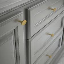 home depot brass kitchen cabinet handles liberty modern herringbone 1 3 8 in 35 mm brushed brass